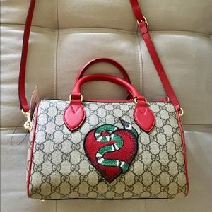 Gucci GG supreme limited edition king snake NWT